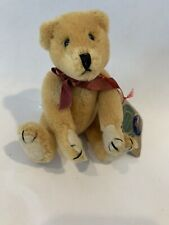 """6"""" Boyds Bears Otto von Bruin - 100% Wool Jointed Bear - Archive Collection 1990"""