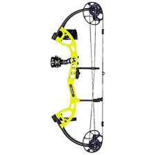 New  Bear Cruzer Lite Youth Bow 5-45 LB Yellow Complete Ready To Hunt Left Hand
