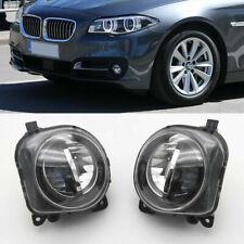 LH+RH Front LED Fog Light Lamp Foglight For BMW 5 Series F10 F11 GT 2014-2016