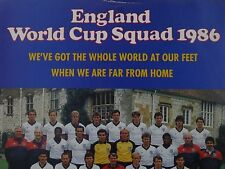 ENGLAND WORLD CUP SQUAD 1988 VINYL 45 WE'VE GOT THE WHOLE WORLD AT OUR FEET