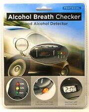 Protocol Alcohol Breath Checker Blood Alcohol Detector Key Chain Breathalyzer