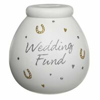 Wedding Fund Pot of Dreams Savings Money Box