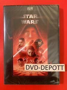 Star Wars: The Last Jedi DVD **AUTHENTIC W/Disney Rewards Insert READ LISTING**
