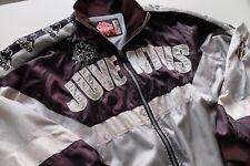 Vintage 90s Juventus Kappa Track jacket M Silver Black Serie A Football Italia