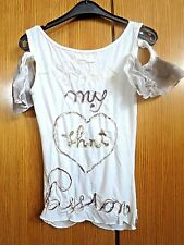 original T-Shirt blanc  SHIRT PASSION XS 34/36