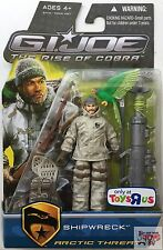 "SHIPWRECK ARCTIC THREAT GI JOE The Rise Of Cobra 2009 3.75"" Inch Action FIGURE"