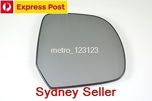 RIGHT DRIVER SIDE MIRROR GLASS FOR NISSAN MICRA K13 11/2011 Onward