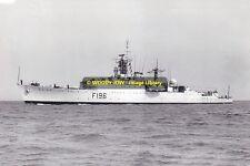 rp13500 - Royal Navy Warship - HMS Urchin F196 , built 1943 - photo 6x4