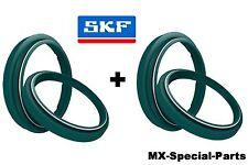 2x SKF Fork bagues d'étanchéité+Capuchons SHOWA 37 mm # HONDA CRF 150 + CR 85 80