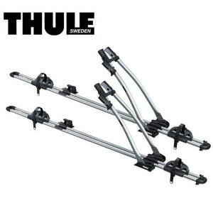 Thule Freeride 532 Roof Rack Top Mount Bike Stand Holder Carrier x2 Two 1746077