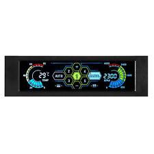 STW Fan Controller LCD Touch Screen Plastic 5.25 Inch Bay Front 5 Fan Speed J7D3
