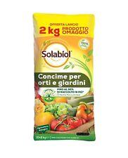 Solabiol Concime Biologico Orto Giardino Offerta 10 Kg +2 Kg omaggio