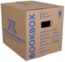 60 Faltkartons 400x400x200 Europaletten Modul Maß Versandbox Umzugs-Bücherkarton