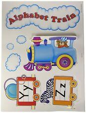 Teacher Created Resources Alphabet Train Bulletin Board Display Set (4421)