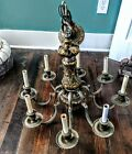 ⭐ Magnificent 8-Arm Caldwell Renaissance Revival Chandelier!! Offers Welcome
