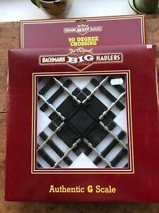 BACHMANN BIG HAULERS G SCALE 90 DEGREE CROSSING 94358