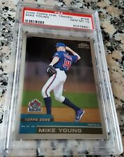MIKE MICHAEL YOUNG 2000 Topps Chrome Traded Rookie Card RC PSA 10 GEM Rangers