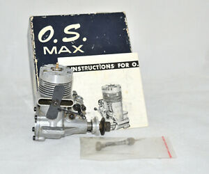 OS MAX S30 RC VINTAGE IN BOX WITH INSTRUCTIONS.