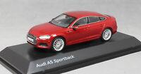 Spark Audi A5 Sportback in Matador Red 5011605032 1/43 NEW