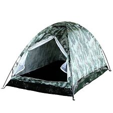 2 Person Camo Outdoor Camping Hiking Light Weight Easy Setup Dome Backpack Tent
