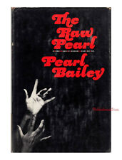 THE RAW PEARL Pearl Bailey autobiography INSCRIBED signed hardcover 1968