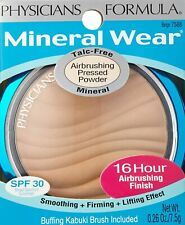 (1) Physicians Formula Mineral Wear Airbrushing Gepresster Puder, 7588 Beige