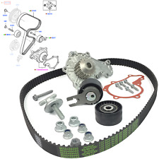 GENUINE FORD WATER PUMP + TIMING BELT SET + FIX KIT FITS FOCUS, FIESTA, 2008684