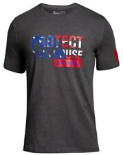 Under Armour * UA Freedom Protect This House T Shirt Grey for Men