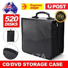 520 Disc DVD CD Storage Case Album Folder Wallet Carry Bag Organizer AU