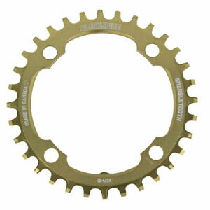 Chainring Snaggletooth Praxis 4 3/32in Gold Blackspire MTB