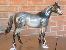 Peter Stone Ish Grulla Grey Appaloosa Model Horse Cowboy Joe