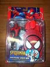Spider-Man Super Poseable magnetic leap & stick Toy Biz Marvel McFarlane 2002