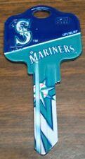 Great Gift Idea MLB SEATTLE MARINERS KWIKSET KW1, KW10, KW11 UNCUT KEY BLANK