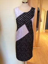 Betty Barclay Dress Size 10 BNWT Black And White Sleeveless RRP £140 NOW £63