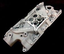 CNC Machined 221 260 289 Cobra Small Block 4V Low Rise Intake Manifold