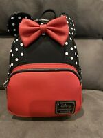 Loungefly Disney Minnie Mouse Polka Dots Mini Backpack