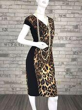 Auth $2,350 New ESCADA Runway Cotton Cocktail Dress Blouse 10 US 46 IT M 40 D