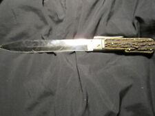 ancien couteau dague de chasse d estaing louis d or model depose