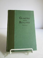 1932 Glimpses Into Boyland Walter MacPeek HB ~ George Washington ~ Free Ship