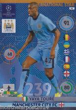 2014/15 adrenalyn xl champions LGE Manchester City Yaya's International Star