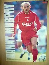 Original Hand Signed Press Cutting- DANNY MURPHY, Liverpool FC (appx. A4 )