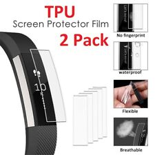 2 X Full Face Coverage TPU 3D Film Screen Protector For Fitbit Alta /HR Watch