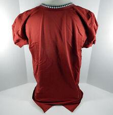 2009-15 Alabama Crimson Tide Blank # Game Issued Red Jersey BAMA00159