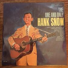 Hank Snow - The One And Only - LP 1962 Vinyl Mono (NEW) Sealed - RCA
