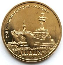 Poland 2 zloty 2013 Lublin Class Minelayer-landing Ship UNC (#343)