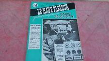 le Haut parleur journal de vulgarisation radio télévision n°1090 aout 1965