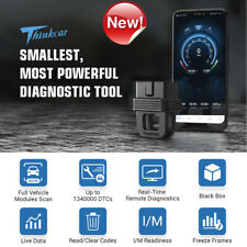 THINKCAR 1 Bluetooth OBDII OBD2 Diagnostic Scanner Tool Active Test AutoVIN Test
