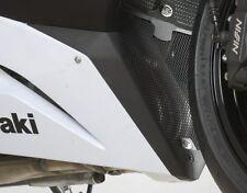 Kawasaki ZX6 R 2013 R&G Racing Downpipe Grille DG0013BK Black