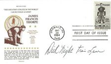 "Dick ""Night Train"" Lane signed Jim Thorpe FDC NFL Football Rams Cardinals Lions"