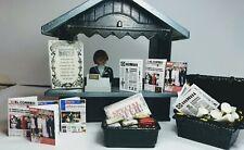 Playmobil. CUSTOM.  Kiosco de prensa y tabaco. Cn muchos accesorios.